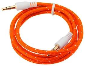 ONE94STORE Aux cable - 1-1.5m , Orange