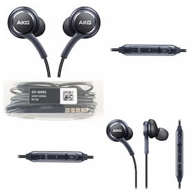 ONE94STORE In-Ear Wired Headphone ( Black )