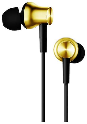 ONE94STORE MI-GOLD-MI-5 In-Ear Wired Headphone ( Gold )