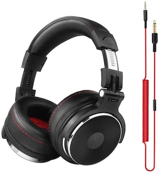 OneOdio PRO50WDB Over-Ear Wired Headphone ( Black )