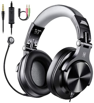 OneOdio A71DWDGMB Over-Ear Wired Headphone ( Black )