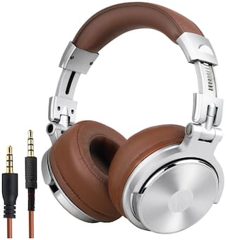 OneOdio PRO30SBK Over-Ear Wired Headphone ( Brown )
