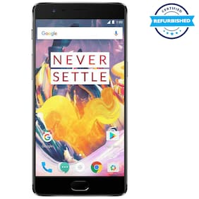 OnePlus 3T 6 GB 64 GB Gunmetal (Refurbished : Good)