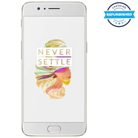 OnePlus 5 6 GB 64 GB Soft Gold (Refurbished : Excellent)