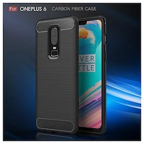 OnePlus 6 Back Case Cover Original Shockproof Armor TPU Cover Case for One Plus 6 Mobile Phone Cover 2018