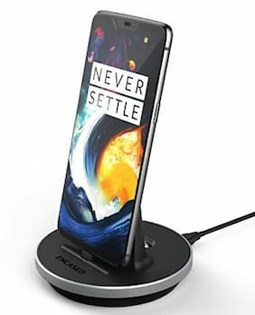 OnePlus 6 Desktop Charger Stand Type C Charging Dock Case, Compatible Adjustable