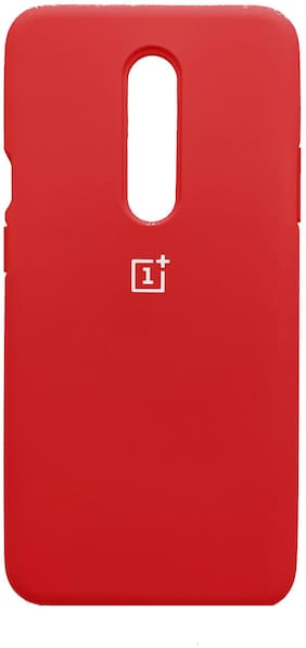 OnePlus 6T ( 1+ 6T ) Slim Soft Flexible Silicone Back Cover In Red For OnePlus 6T