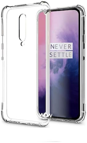 OnePlus 7 Pro - HD Clear Bumper Shockproof Corner Back Cover Transparent(Air Cushion Technology)