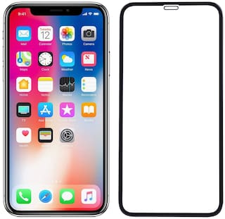 Onliest Edge to Edge 6D/11D Tempered Glass Screen Protector for Iphone X or I phone XS