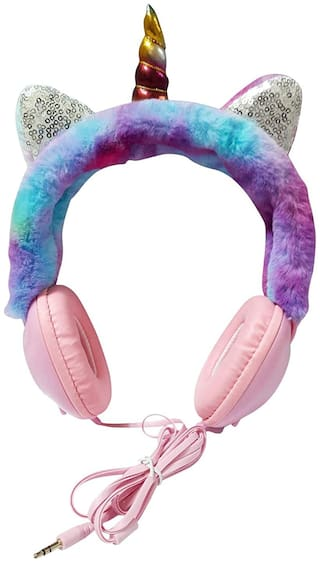 ONOTIC Unicorn Over-Ear Wired Headphone ( Assorted )