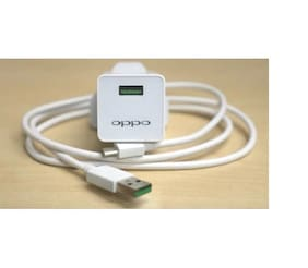 OPPO.22 EP-TA20UBE 2.4A Fast Charging Adapter With USB Charging Cable Compatible For All Oppo & Android Phones Comes With 3 Months Seller Replacement Warranty