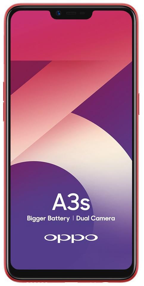 Oppo A3S with 6.2 inch screen - 2GB RAM - 16GB Storage