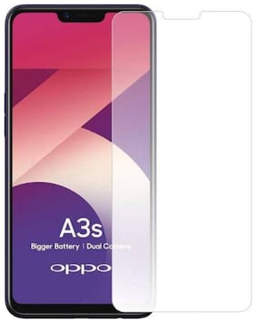Oppo A3s Premium Quality Tempered Glass