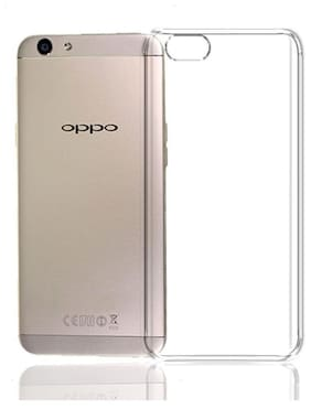 Oppo A57 Soft Silicone Transparent Back Cover With Shock absorption protection