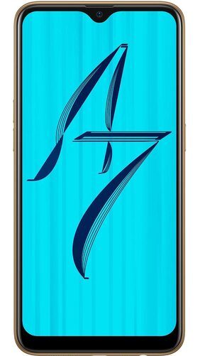 OPPO A7 4 GB 64 GB Glaring Gold