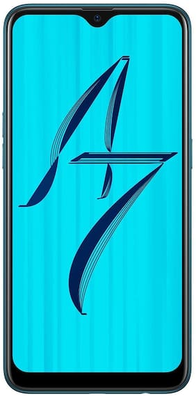 OPPO A7 4 GB 64 GB Glaze Blue