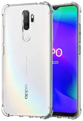 Oppo A9 2020 - HD Clear Bumper Shockproof Corner Back Cover Transparent(Air Cushion Technology)