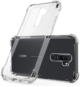 OPPO A9 2020 Shock Proof Protective Anti Shock, Soft Transparent Back Case Cover [Bumper Corners with Air Cushion Technology]