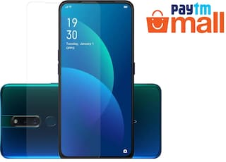 Oppo F11 Pro Transparent Tempered Glass [Pack Of 1]