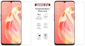 OPPO F15 Tempered Glass (PACK OF 2)