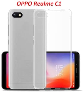 Oppo Realme C1 Transparent Cover