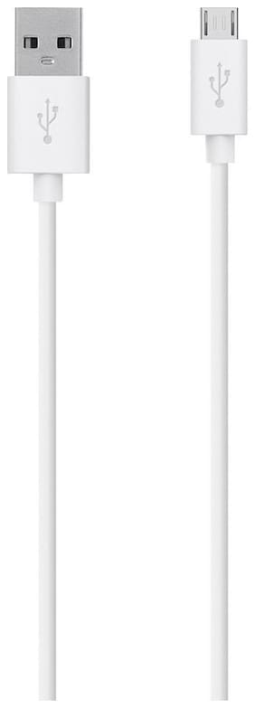 OPPO store Usb cable & Data cable - 1.2 Mtr , White
