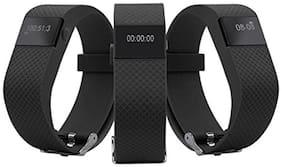 Opta SW-007 Smart Watch For All Smart Phones (Black)