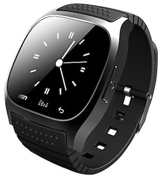 Opta SW-010 Smart Watch For All Smart Phones (Black)