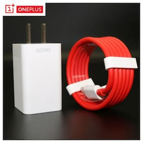 Original Oneplus 6T Dash Wall Charger Travel Power Adapter 1+ Dash Type-C Cable