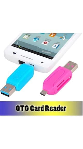 OTG SD and Micro SD Card Reader