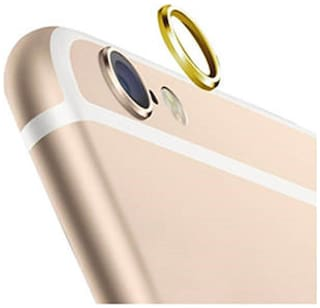 (Pack of 5) Camera Lens Protection Ring Gold Color For Apple