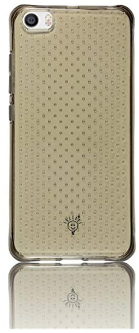 Parallel Universe Transparent Dotted Back Cover for Xiaomi Mi5 ( Smoke Grey )