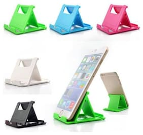 Parshu Plastic Table Stand Mobile Holder