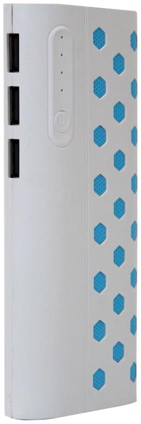 PB-Hefty Dotted 10000 mAh Power Bank - White