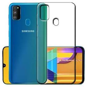 PEGANORM Transparent Back Cover for Samsung Galaxy M30s, Soft Back Cover for Samsung Galaxy M30s