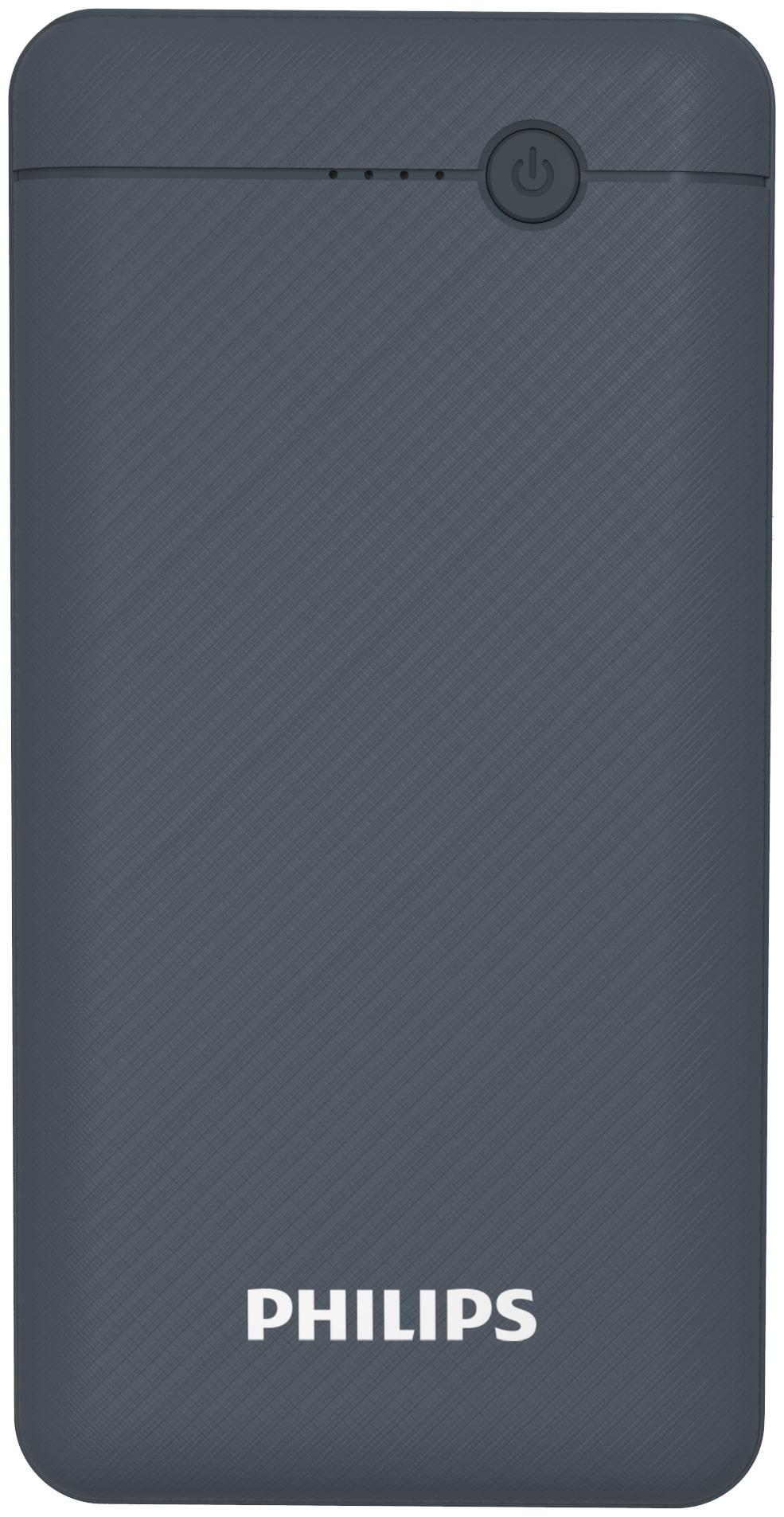 Philips DLP1710CV 10000 mAh Li-Polymer Portable Power Bank Black