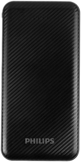 Philips DLP6716CB 10000 mAh  Power Bank - Black