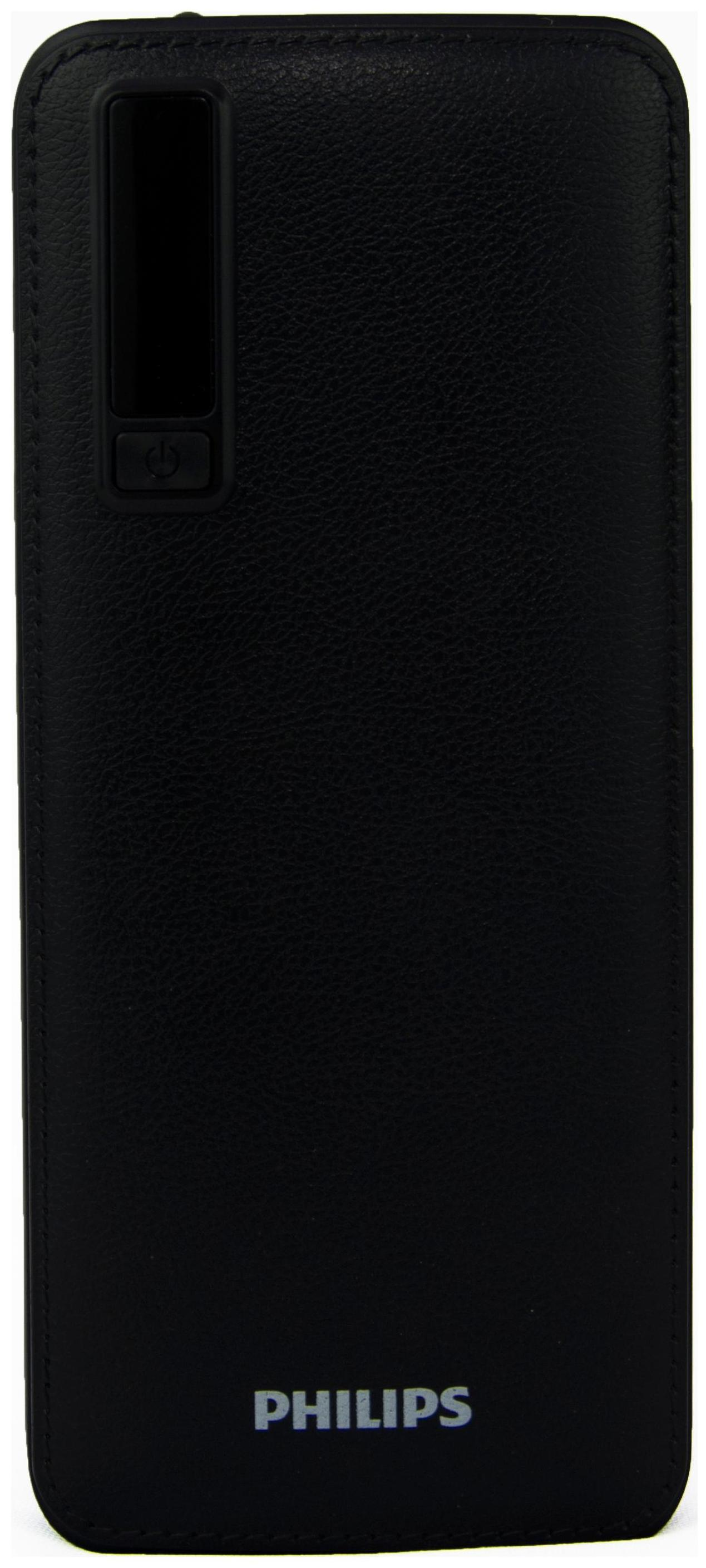 Philips DLP5206 5200mAh Power Bank With Li-Ion Battery (Black)