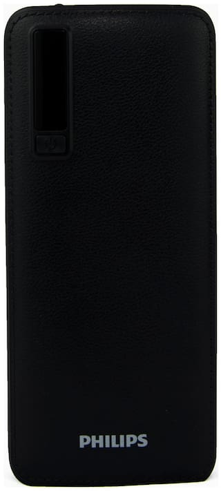 Philips DLP6006B 11000mAh Power Bank With Lithium Ion Battery (Black)