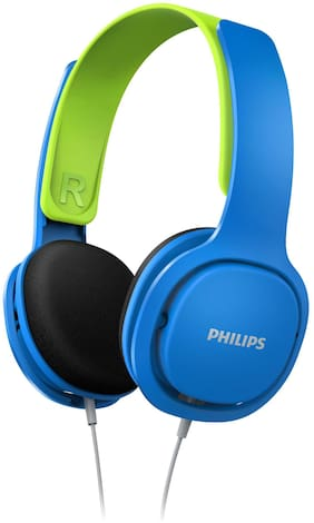Philips Shk2000bl On-ear Wired Headphone ( Blue & Green )