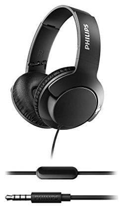 Philips SHL3175BK/00 Wired Over-Ear Headphone (Black)