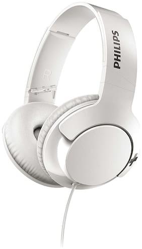 Philips SHL3175 Over-Ear Wired Headphone ( White )
