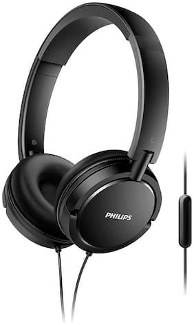 Philips Shl5005 On-ear Wired Headphone ( Black )