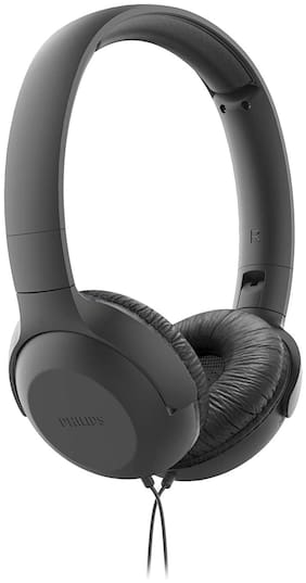 Philips TAUH201BK Over-Ear Wired Headphone ( Grey )