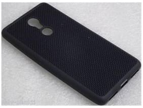 Black Dotted Soft Case For LENOVO K8 Note (Jaali)