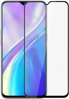 PhoneBukket 11D Curved Edge to Edge 9H Tempered Glass for Realme XT