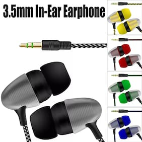 KONARRK Disco In-Ear Wired Headphone ( Assorted )