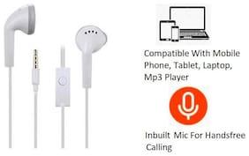 Pickadda YS In-ear Wired Headphone ( White )