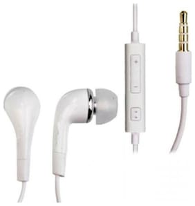 PICKMALL In-Ear Wired Headphone ( White )