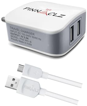 Pinnaclz Wall Charger - 2 USB Ports